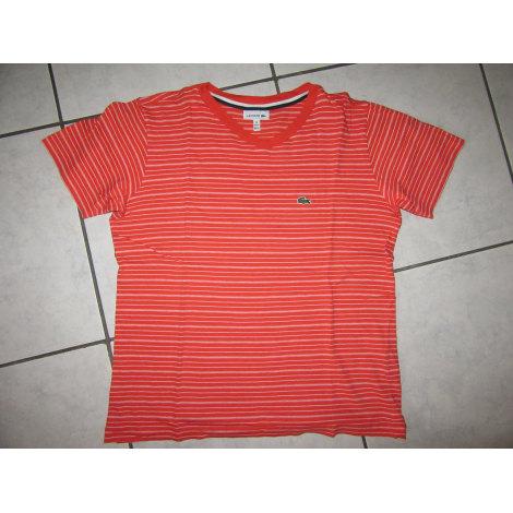 Tee-shirt LACOSTE Orange