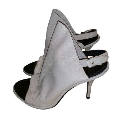 Sandales à talons BALENCIAGA Blanc, blanc cassé, écru