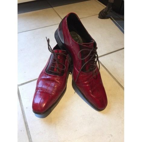 Chaussures à lacets HARRIS Rouge, bordeaux