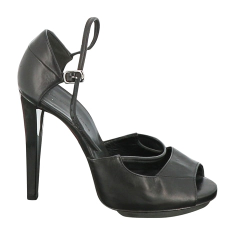 Sandales à talons BALENCIAGA Noir