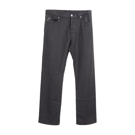 Straight Leg Pants KENZO Gray, charcoal
