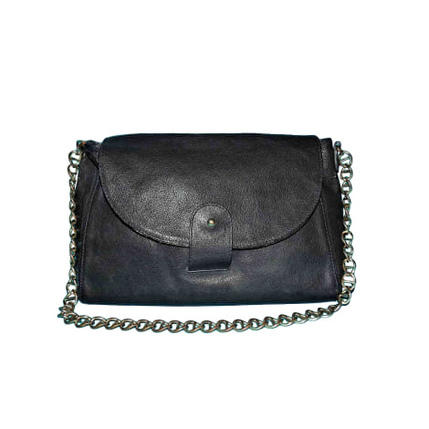 Leather Shoulder Bag APC Blue, navy, turquoise