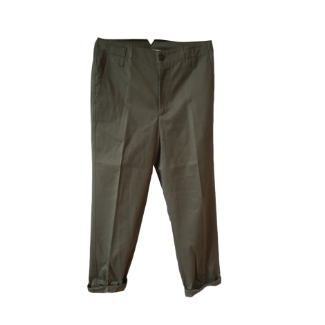 Pantalon droit GOLDEN GOOSE Kaki