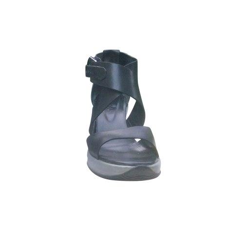 Sandales compensées HOGAN Noir