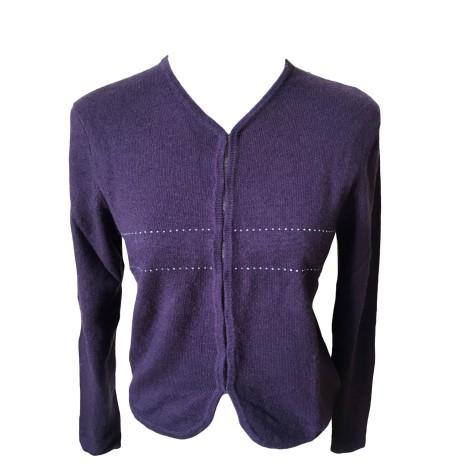 Gilet, cardigan ERIC BOMPARD Violet, mauve, lavande