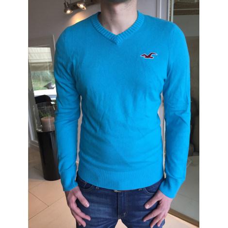 Pull HOLLISTER Bleu, bleu marine, bleu turquoise