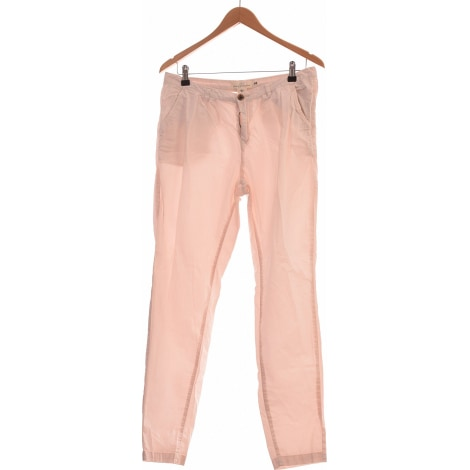 Pantalon slim, cigarette H&M Rose, fuschia, vieux rose