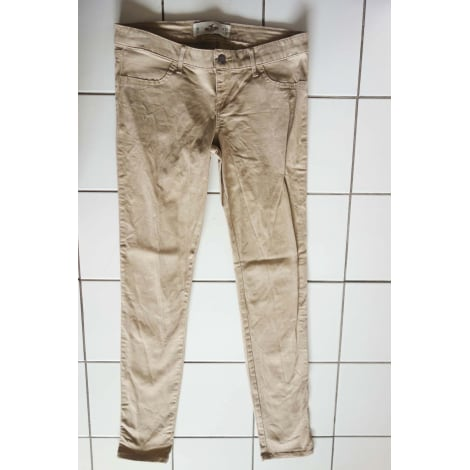 Jeans slim HOLLISTER Beige, camel