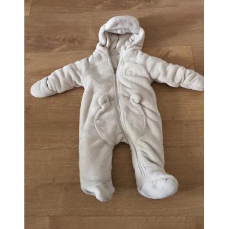 Manteau NOUKIES Blanc, blanc cassé, écru