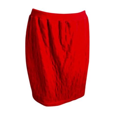 Tailleur jupe SONIA RYKIEL Rouge, bordeaux