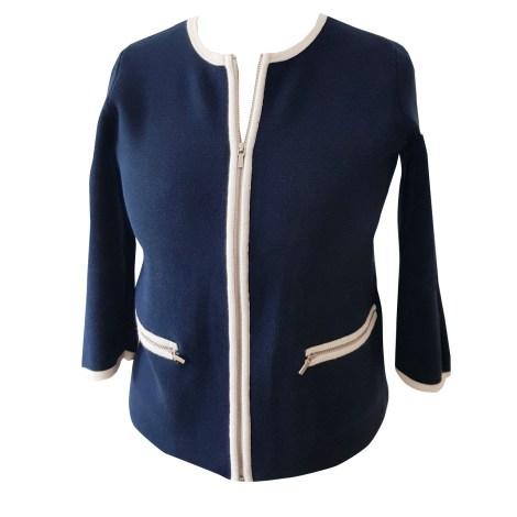Gilet, cardigan TOMMY HILFIGER Bleu, bleu marine, bleu turquoise