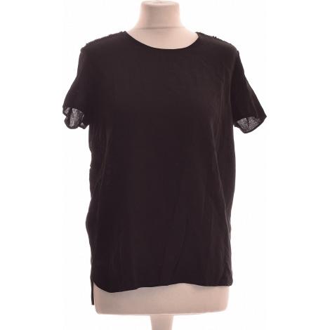 Top, tee-shirt NAF NAF Noir