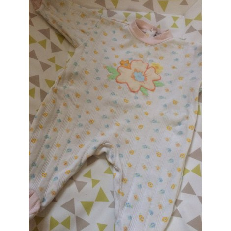 Pyjama INFLUX Blanc, blanc cassé, écru