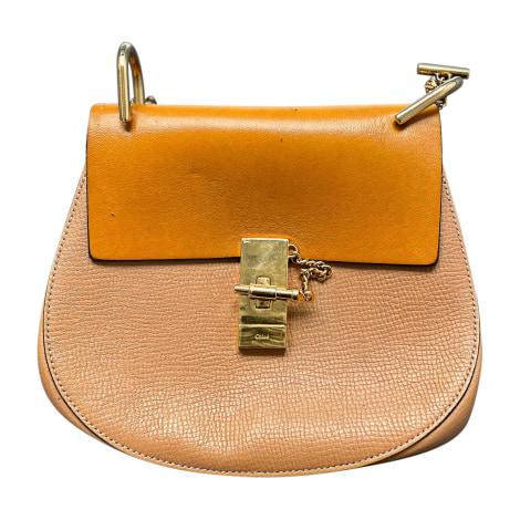 Leather Shoulder Bag CHLOÉ Beige, camel