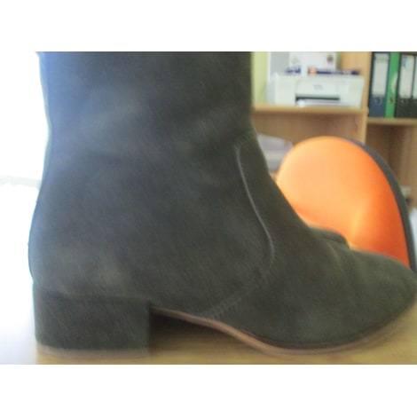 Bottines & low boots à talons BUFFALO Kaki