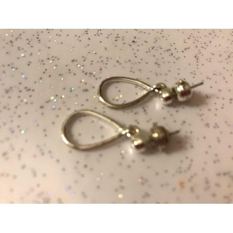 Boucles d'oreille MONET Argenté, acier