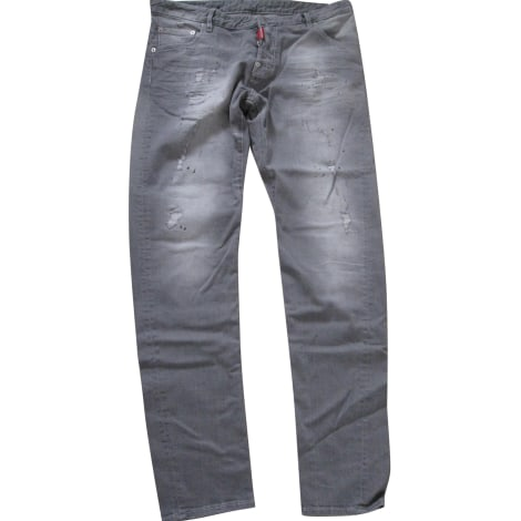 Jeans slim DSQUARED2 Gris, anthracite