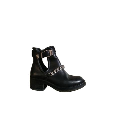 Bottines & low boots plates SANDRO Noir