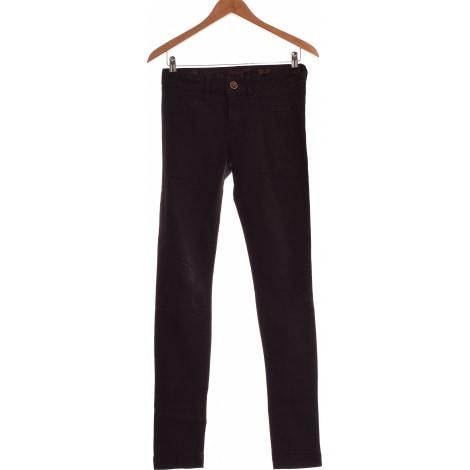 Jeans droit DESIGUAL Noir