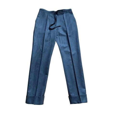 Pantalon slim, cigarette KENZO Gris, anthracite
