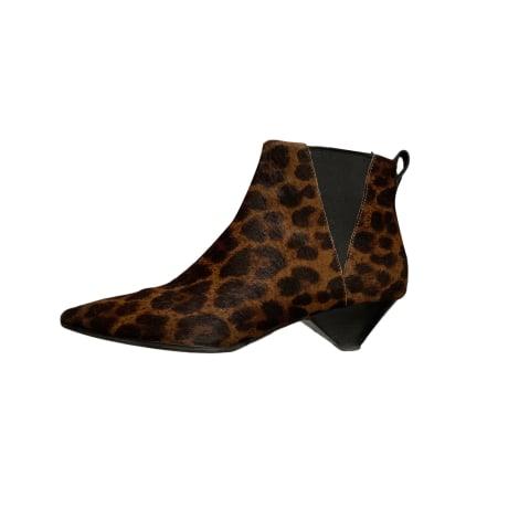 Bottines & low boots à talons ASH Imprimés animaliers