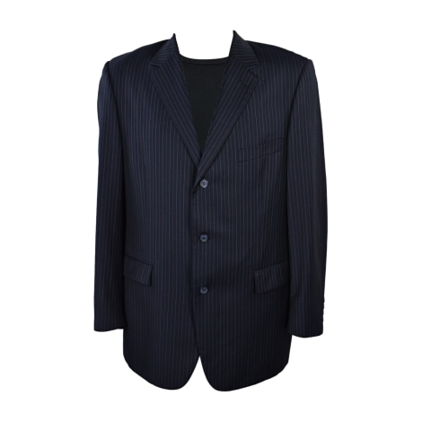 Veste de costume YVES SAINT LAURENT Bleu, bleu marine, bleu turquoise
