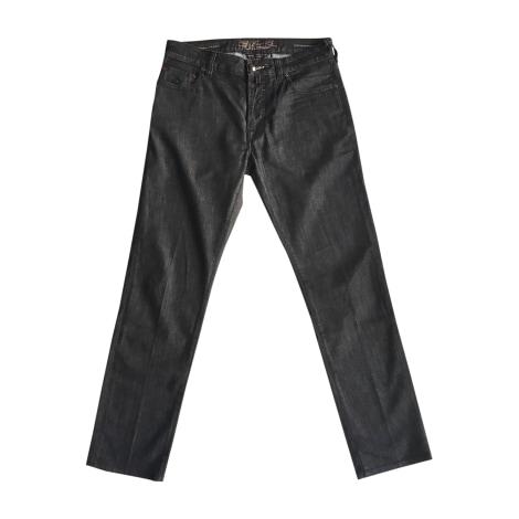 Jeans droit JACOB COHEN Noir