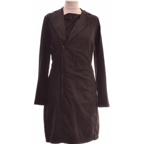Robe mi-longue MISS CAPTAIN Noir