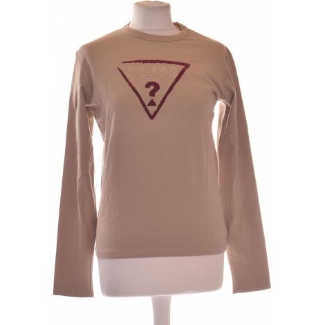 Tee-shirt GUESS Beige, camel