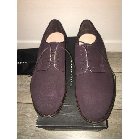 Chaussures à lacets FRATELLI ROSSETTI Violet, mauve, lavande