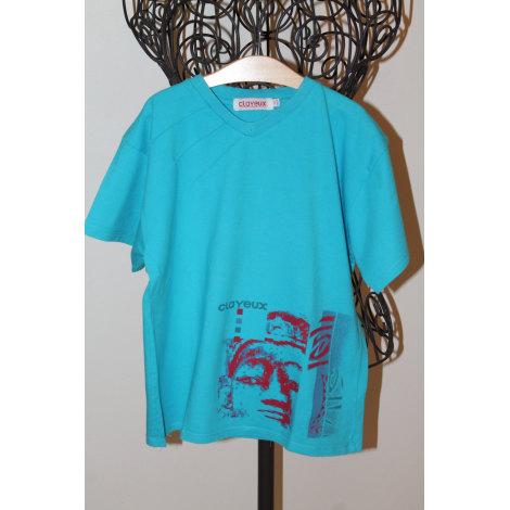 Tee-shirt CLAYEUX Bleu, bleu marine, bleu turquoise