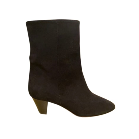 High Heel Ankle Boots ISABEL MARANT ETOILE Black