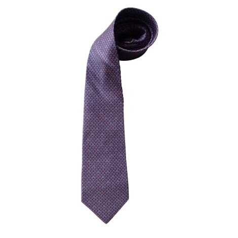 Cravate SALVATORE FERRAGAMO Violet, mauve, lavande