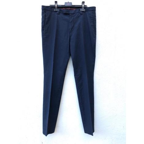 Pantalon slim HUGO BOSS Bleu, bleu marine, bleu turquoise