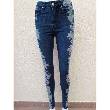 Jeans slim LOIS Bleu, bleu marine, bleu turquoise