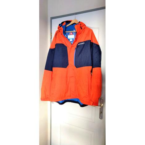 Blouson COLUMBIA bleu et orange