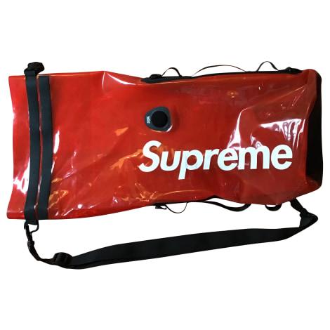 Sac XL en tissu SUPREME Rouge, bordeaux