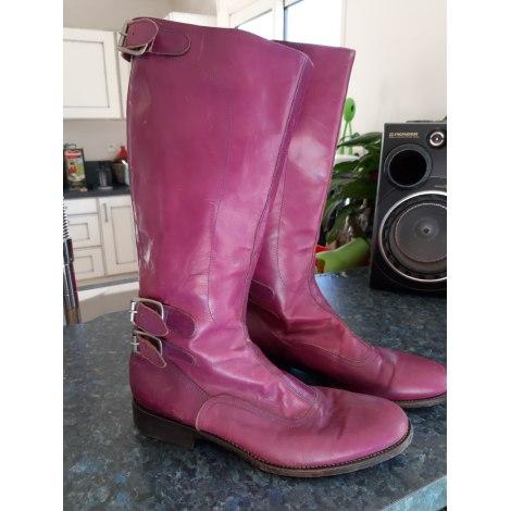 Santiags, bottes cowboy NEW ONLY Violet, mauve, lavande