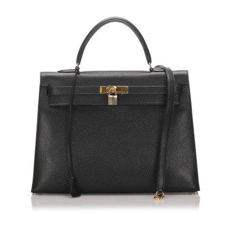 Sacoche HERMÈS Kelly Black