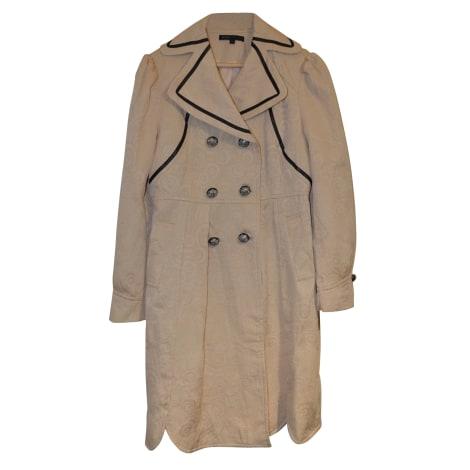 Manteau MARC JACOBS Blanc, blanc cassé, écru