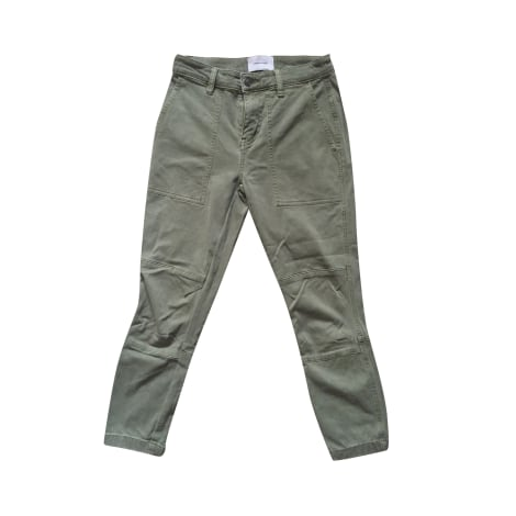 Pantalon slim, cigarette CURRENT/ELLIOTT Kaki