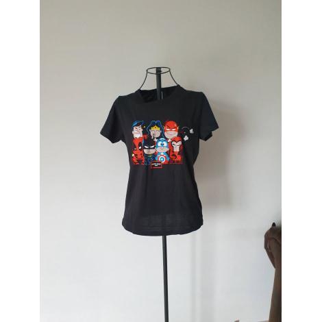 Top, tee-shirt MARVEL Noir