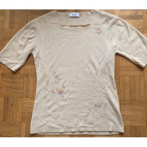 Top, tee-shirt LAURÈL Blanc, blanc cassé, écru