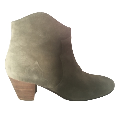 Bottines & low boots à talons ISABEL MARANT Taupe