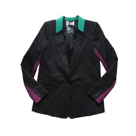 Blazer, veste tailleur AMERICAN RETRO Noir