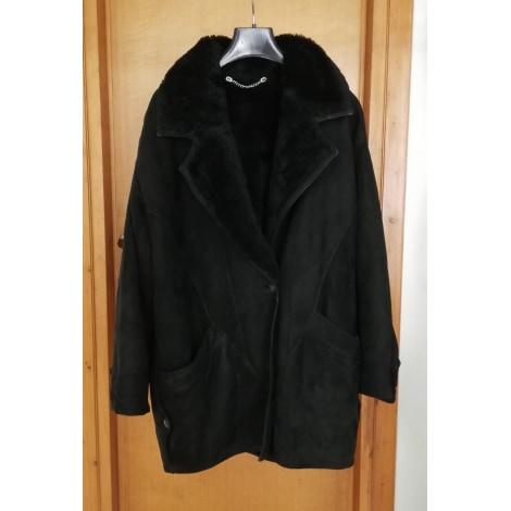 Manteau en fourrure SHEARLING Noir