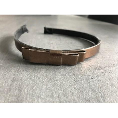 Serre-tête H&M Doré, bronze, cuivre