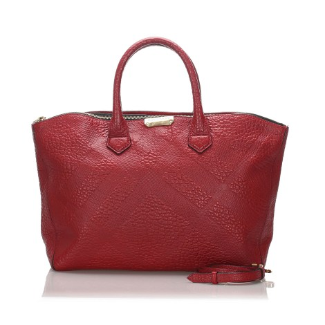 Sacoche BURBERRY Red