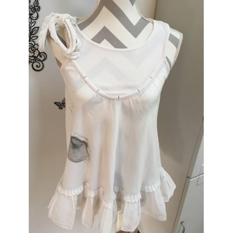 Robe tunique COP-COPINE Blanc, blanc cassé, écru