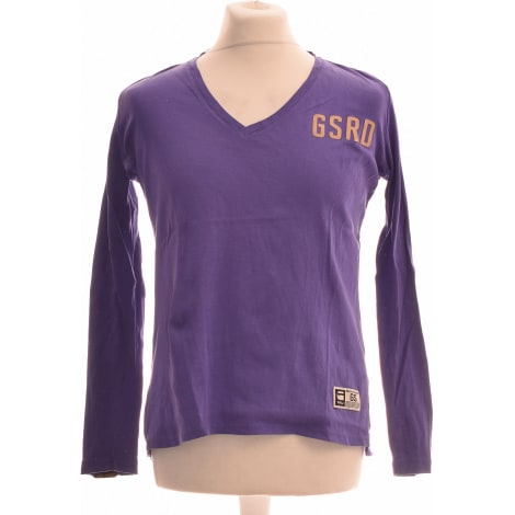 Tee-shirt G-STAR Violet, mauve, lavande